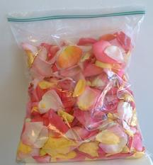 Bag Of Fresh Rose Petals Any Color 20 95